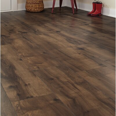 Cashe Hills 8 x 47 x 7.87mm Maple Laminate Flooring in Chocolate