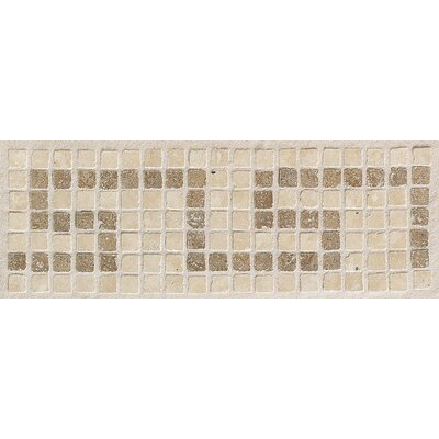 Artistic Accent Statements 12 x 4 Greek Key Decorative Border in Sand/Walnut
