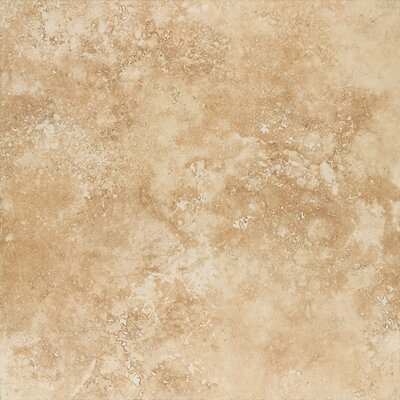 Mirador 13 x 13 Porcelain Field Tile in Golden Amber