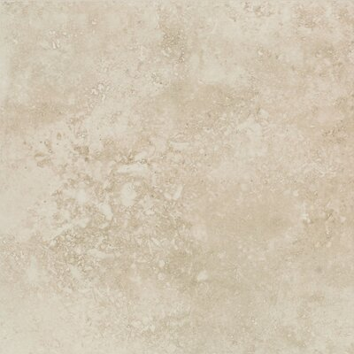 Mirador 13 x 13 Porcelain Field Tile in Ivory Cream