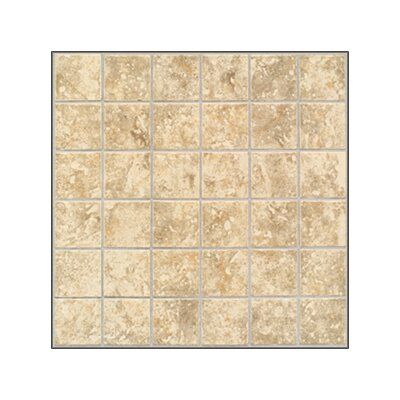 San Perla 2 x 2 Ceramic Mosaic Tile in Traditional Taupe