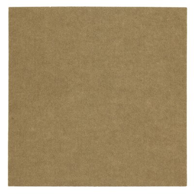 "Mohawk Ribbed 18"" x 18"" Carpet Tile in Putty at Sears.com"