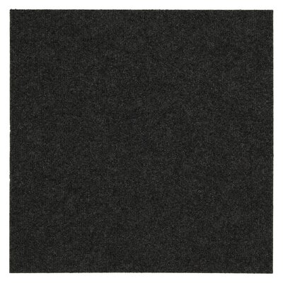 "Mohawk Ribbed 18"" x 18"" Carpet Tile in Gunmetal at Sears.com"