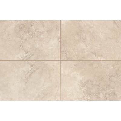 Natural Mirador 13 x 3 Bullnose Tile Trim in Ivory Cream