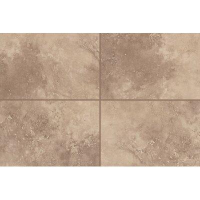Natural Mirador 13 x 3 Bullnose Tile Trim in Brown Pearl