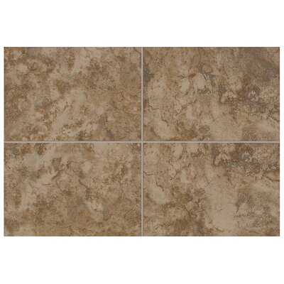 Pavin Stone 6 x 6 Bullnose Tile Trim in Brown Suede (Set of 2)