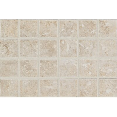 Steppington 2 x 2 Bullnose Tile Trim in Provincial Pearl