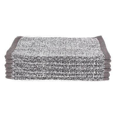Diamond Jacquard Wash Cloth Color: Gray