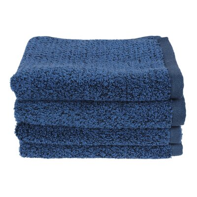 Diamond Jacquard Hand Towel Color: Navy