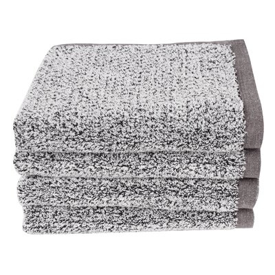 Diamond Jacquard Hand Towel Color: Gray