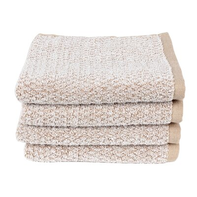 Diamond Jacquard Hand Towel Color: Caramel