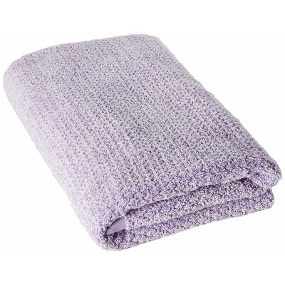 Diamond Jacquard Bath Towel Color: Light Lavender