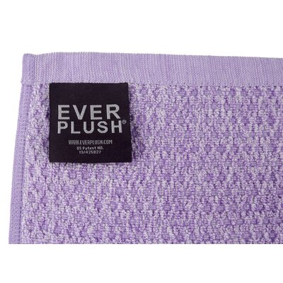 Diamond Jacquard 2 Piece Bath Sheet Set Color: Lavender
