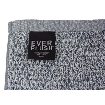 Diamond Jacquard Bath Towel Color: Dusk
