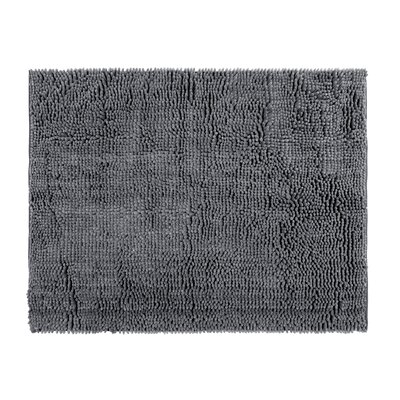 Chenille Gray Area Rug