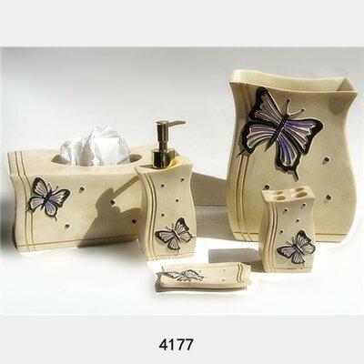 Brubaker 6 Piece Bathroom Accessory Set AGTG8463 45558762