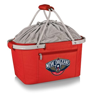 NBA New Orleans Hornets Metro Basket NBA Team: New Orleans Hornets, Color: Red 645-00-100-314-4