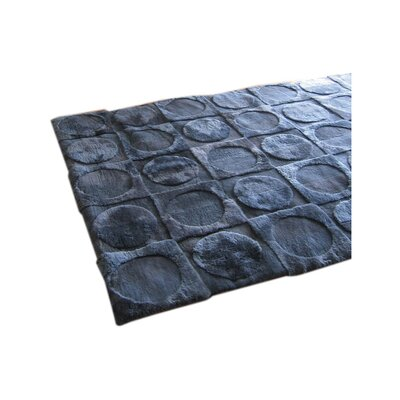 Shortwool Design Lunar Ink Blue Area Rug Rug Size: Runner 2 x 8