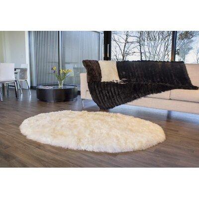 Longwool Rug Rug Size: Oval 4 x 6