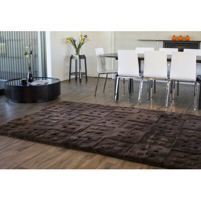 Design Sheepskin Java Area Rug Rug Size: Rectangle 4 x 6