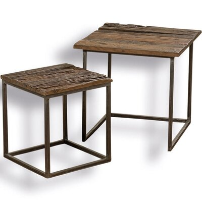 Stockbridge 2 Piece Nesting Table Set