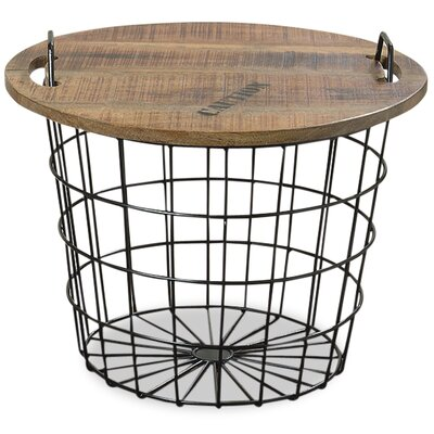 Urban Convertible Basket End Table