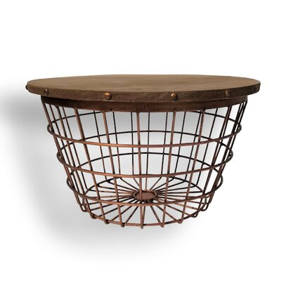 Urban Small Wire Basket End Table