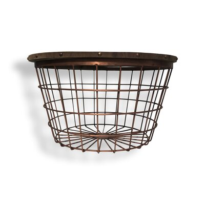 Urban Large Wire Basket End Table