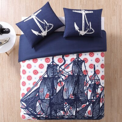 Nautical Comforter Set Size: Full/Queen