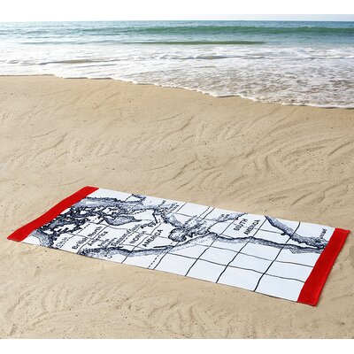 Seedling by Thomas Paul Map Beach Towel