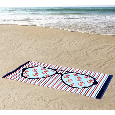 Sunglasses Beach Towel
