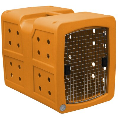 Pet Crate Color: Orange