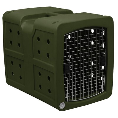 Pet Crate Color: Olive