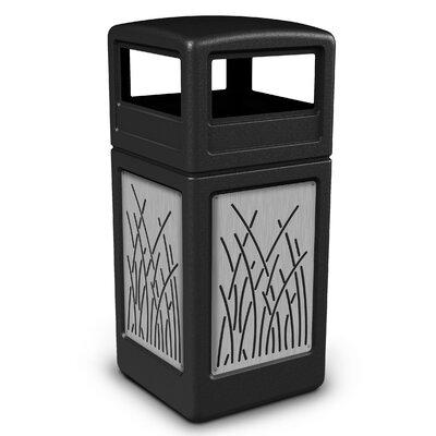 Precision Series� 42 Gallon Trash Can Color: Black 732916199