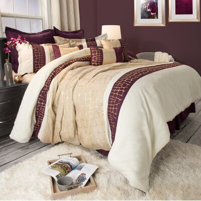 Comforter Set Size: King, Color: Gold