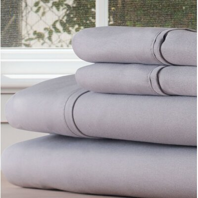 Sheet Set Size: King, Color: Silver