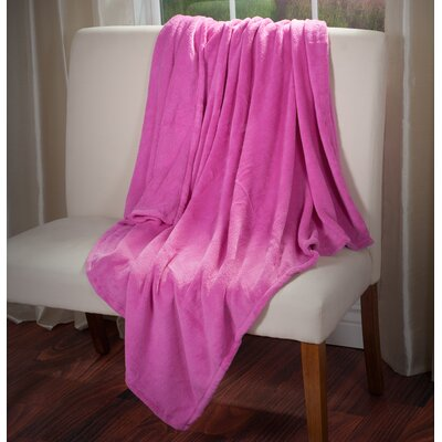 Throw Blanket Color: Pink