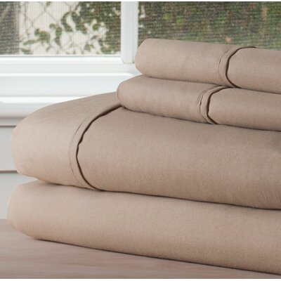 Sheet Set Size: Twin XL, Color: Taupe