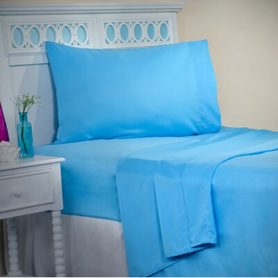 Sheet Set Size: Twin XL, Color: Light Blue