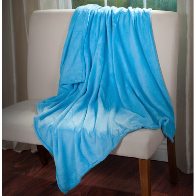 Throw Blanket Color: Blue