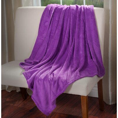 Throw Blanket Color: Purple