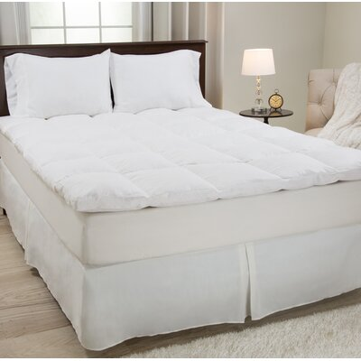 2 Duck Feather Mattress Topper Size: Twin
