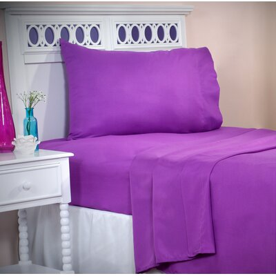 Sheet Set Color: Purple, Size: Twin