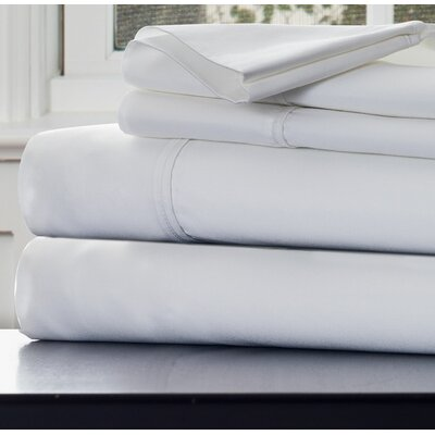 1000 Thread Count Sheet Set Size: King, Color: White