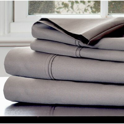 1000 Thread Count Sheet Set Color: Platinum, Size: Queen