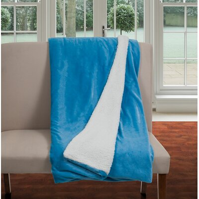 Blanket Size: Twin, Color: Blue