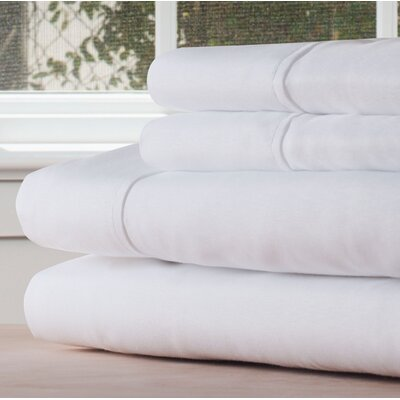 Sheet Set Color: White, Size: King