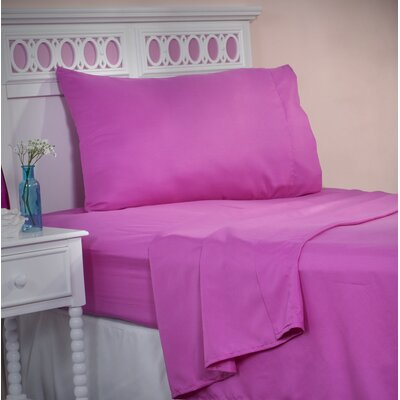 Sheet Set Size: Full, Color: Pink