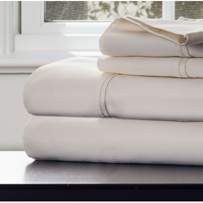 1000 Thread Count Sheet Set Color: Ivory, Size: Queen