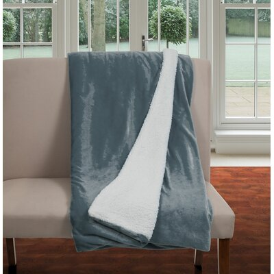 Blanket Color: Gray, Size: Full / Queen